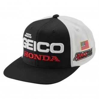8f20eac447cf9 100%® - Men s Geico Honda Podium Snapback Hat