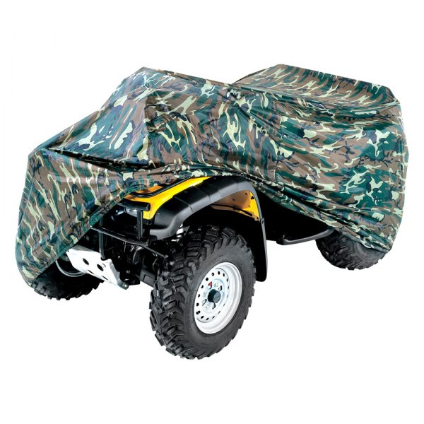 ATV Storage Cover Heavy Duty Water Resistant Nylon Cover Camouflage