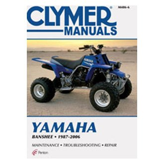 Yamaha Yfz350 Banshee Repair Manuals Engine Exhaust Suspension Powersportsid Com