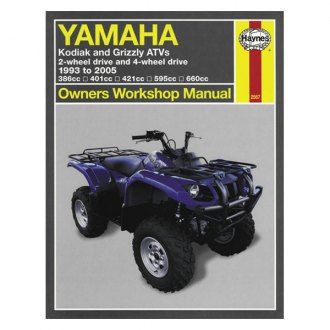Yamaha Yfm600 Grizzly Owner Manuals Powersportsid Com
