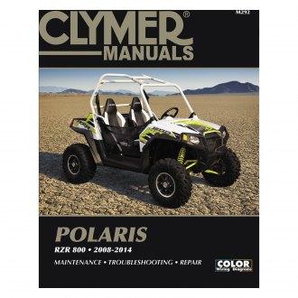 Clymer Workshop Manual Polaris Scrambler 500 ATV 4x4 1997-2000 Service Repair