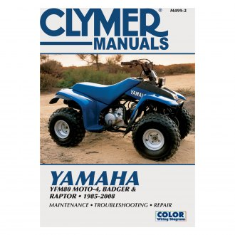 Yamaha Yfm80 Badger Repair Manuals Engine Exhaust Suspension Powersportsid Com