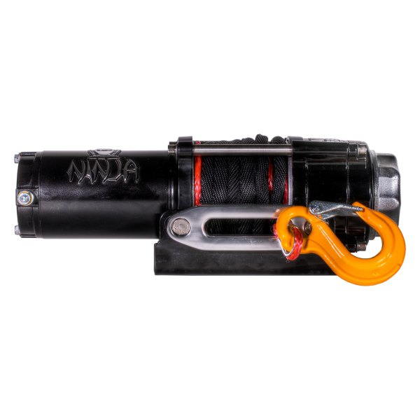 Warrior Ninja 2000 12v Electric Winch with Steel Cable