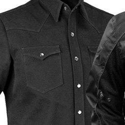 Men/'s Biker Vest Rough Neck Denim Haywood Motorcycle Vest by Firstmfg