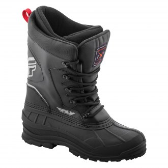 FLY Racing Marker Boa Snowmobile Boots Winter Snow Waterproof Riding Boots