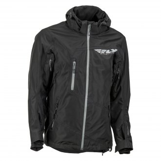 Black X-Large Fly Racing Checkpoint Jacket