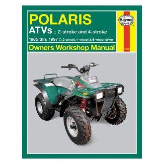 1997-2000 Polaris SCRAMBLER 500 4X4 Repair Manual Clymer M363 Service Shop