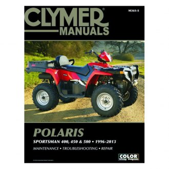 Clymer M496 ATV//UTV Manuals Service Book Guide