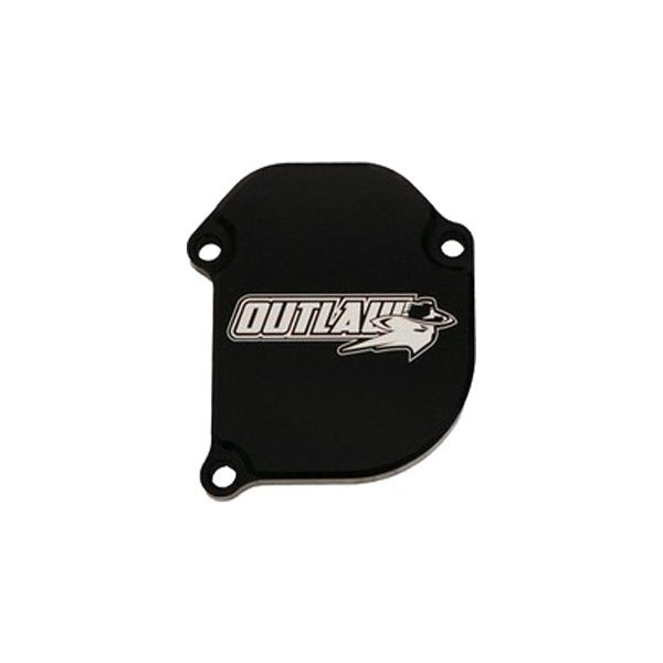 Outlaw Racing ATV Throttle Cover Guard Billet Aluminum Anodized Black