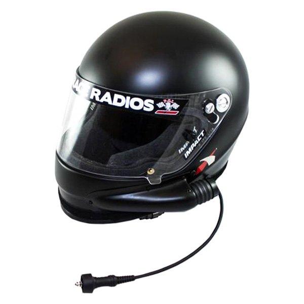PCI Race Radios® - Impact 1320 Side Air Wired Forced Air Helmet w/o Ear Cups