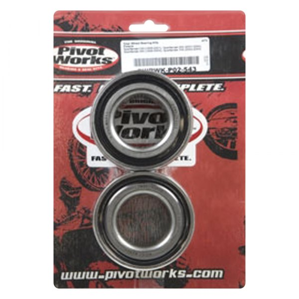 Pivot Works Wheel Bearing Kit Rear PWRWK-P02-543