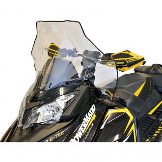 PowerMadd 13413 Cobra Black 12 Low Windshield