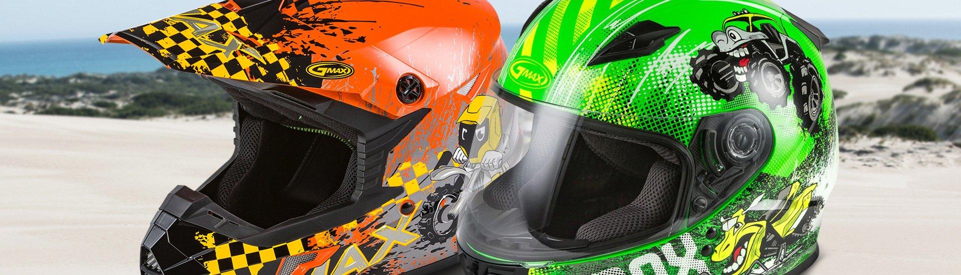 Kids Powersports Helmets Full Face Off Road Open Face Powersportsid Com