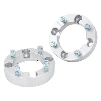 Supreme Suspensions DS450 /& Commander 800 1000 4x137mm Bolt Pattern M10x1.25 Studs /& 110mm Center Bore ATV Wheel Spacer 2pc Set of 2 Wheel Spacers for CAN-AM Maverick Silver