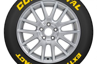 Continental Tire Stickers >> Tire Stickers Yellow Continental Extreme Contact Tire Lettering Kit
